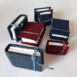 Miniature sketchbooks